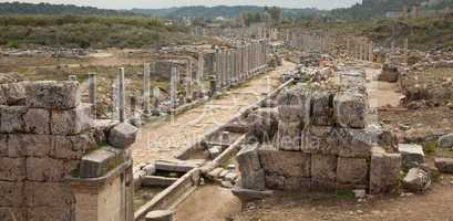 Ancient City Of Perge