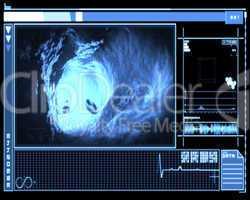 Blue vein interior interface