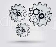 Turning cogs