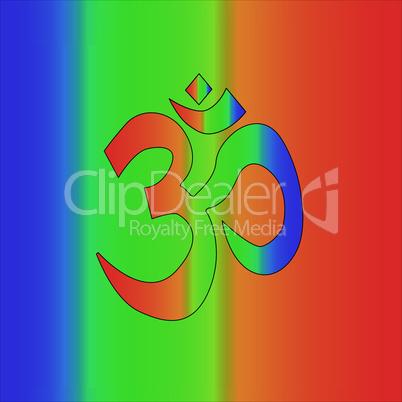 Rainbow Om