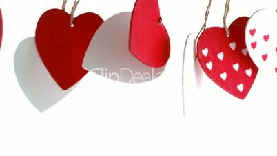 Love heart decoration pending