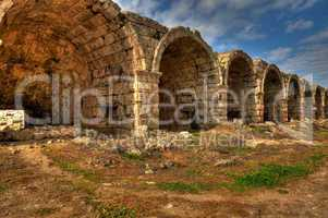 Ancient  Perge, HDR photography