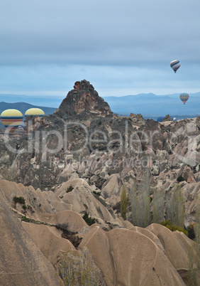 air balloon trip at Cappadocia