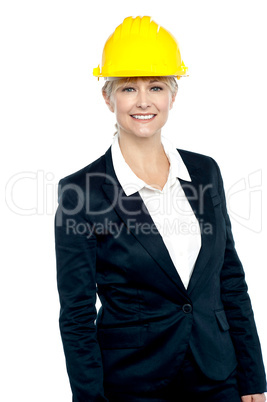 Shot of a confident female business architect