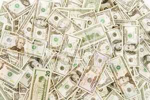Cash background overhead