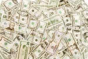 Cash background overhead