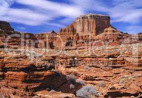 Sandstone Butte Near Canyonlands