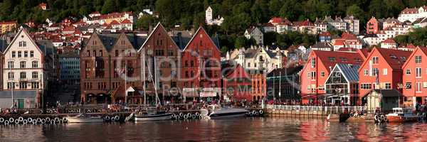 Old town of Bergen