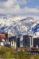 Salt Lake City Skyline, Utah