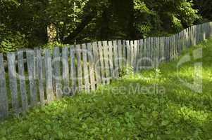Wood Fence, Ephraim Bales Place