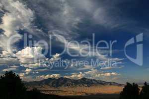 Nevada mountain scene