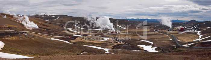 Geothermal powerstation in Iceland