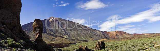 Volcano El Teide on Teneriffe