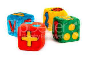 Colorful Toy Cubes