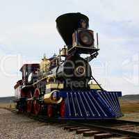 Steam Locomotive at Golden Spike UT