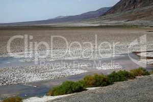 Death Valley California at Badwater