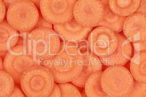 Hintergrund aus Karotten