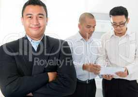 Southeast Asian business men