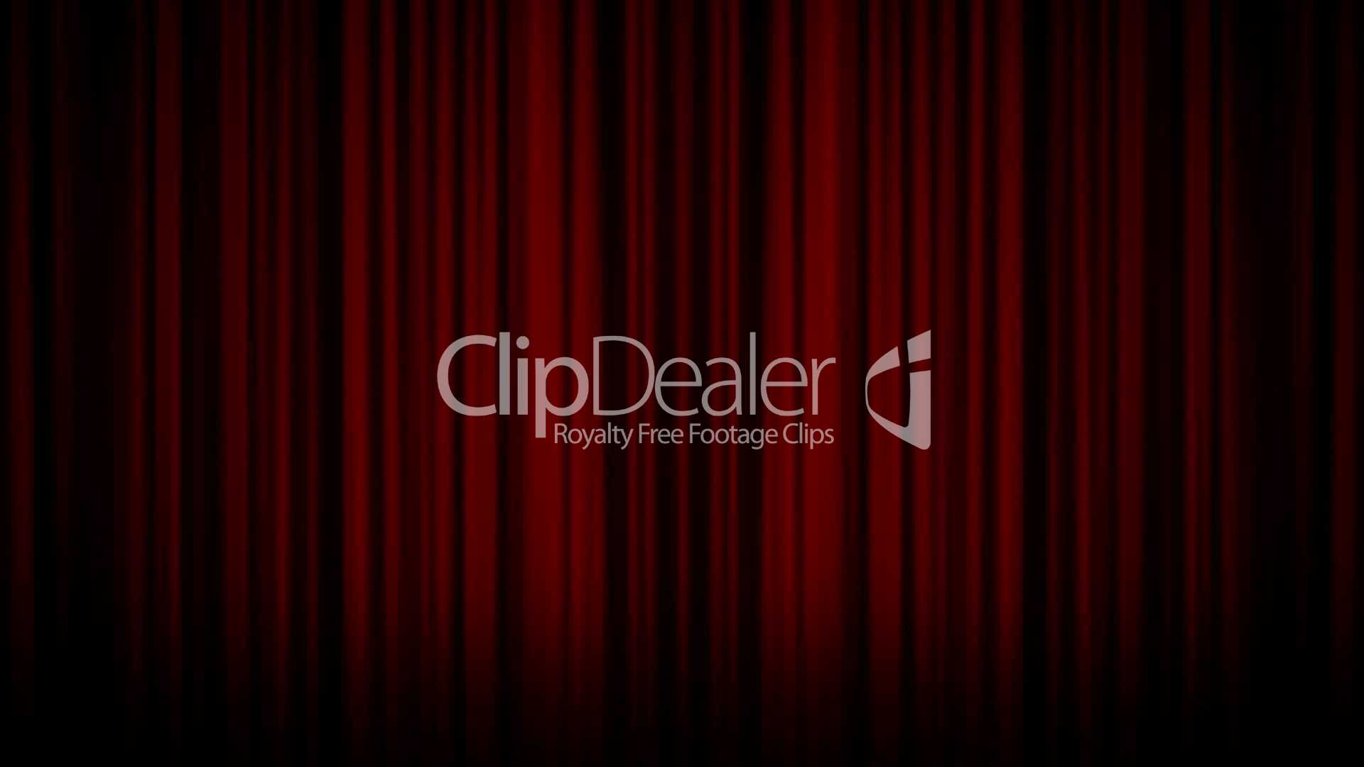 Theater curtain stage hd1080 royalty free video and