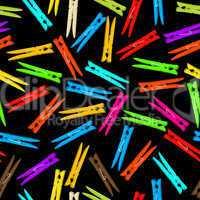 Seamless clothespin