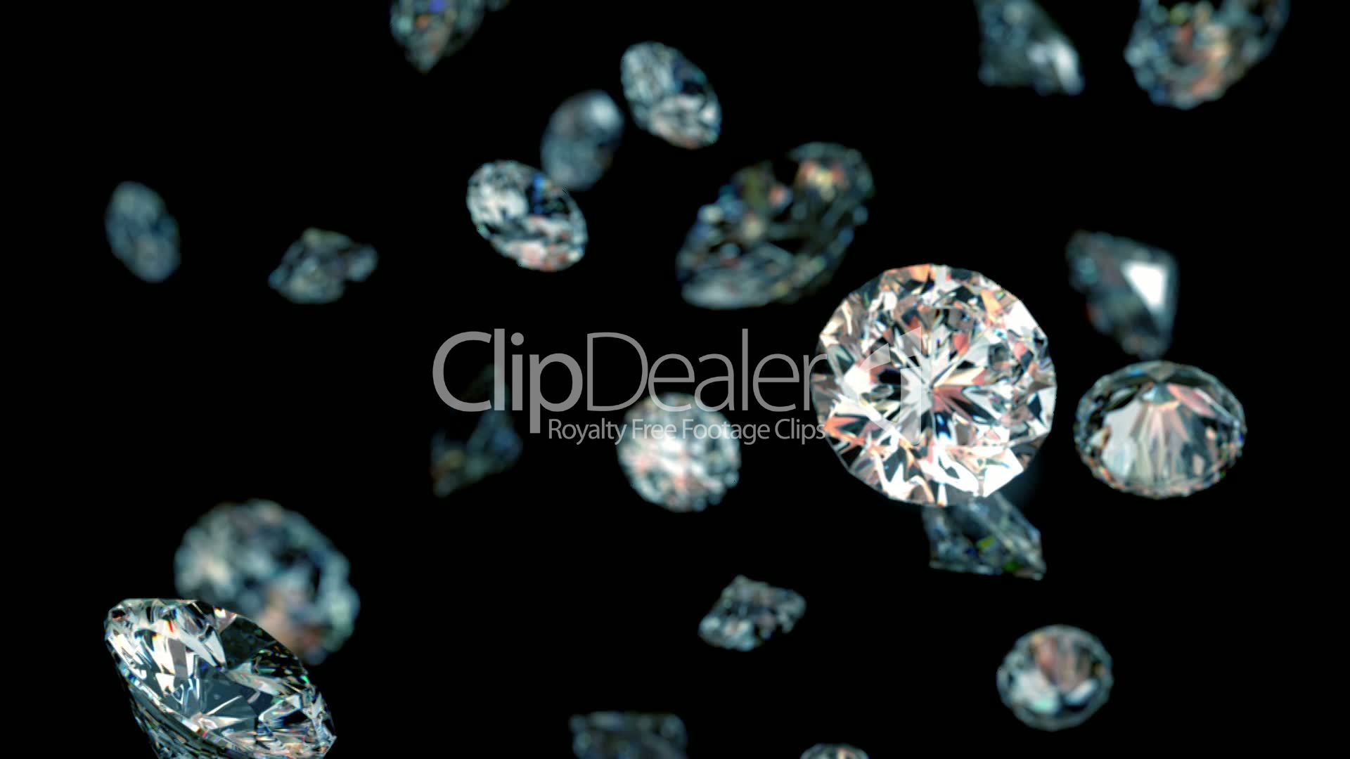 clips seamless diamonds footage media video stock and turning free diamond royalty