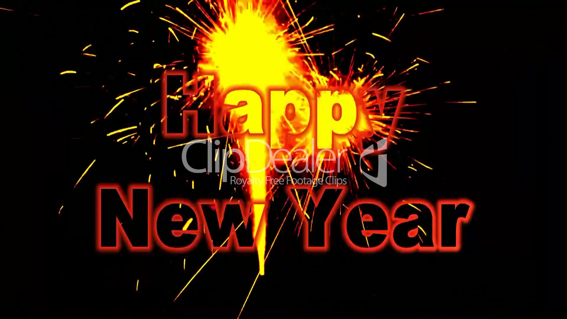 Happy New Year: Royalty-free video and stock footage