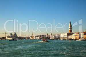Venice as seen from the lagoon
