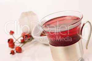 Tea of rose hip