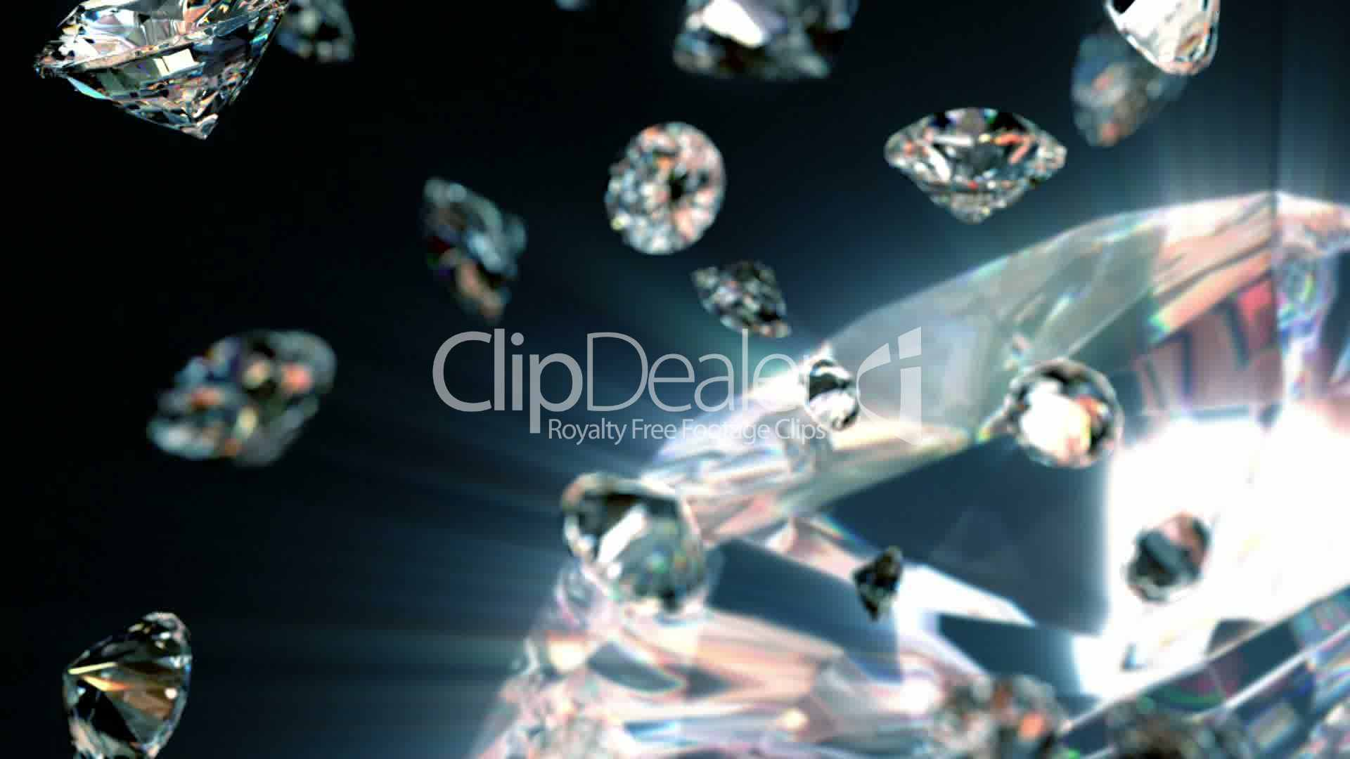 free diamonds turning and royalty seamless stock footage clips diamond video media