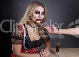 Vampirfrau