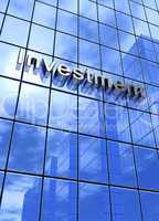 Fassaden Text Konzept - Investment