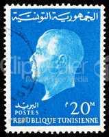 Postage stamp Tunisia 1962 Habib Bourguiba, President
