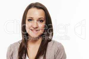 portrait eines hübschen teenagers