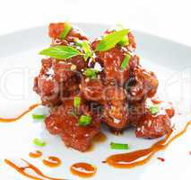 Spare ribs Chinese cuisine