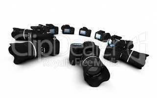DSLR Konzept - Digitale Spiegelreflexkameras im Kreis 1