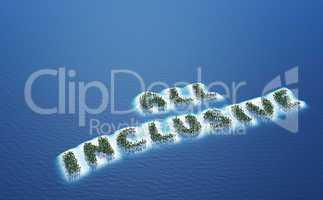 All Inclusive - Insel Konzept 3