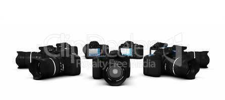 DSLR Konzept - Digitale Spiegelreflexkameras im Kreis 3