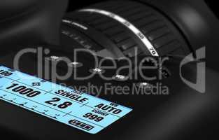 Digitale Spiegelreflexkamera - DSLR Detail 2