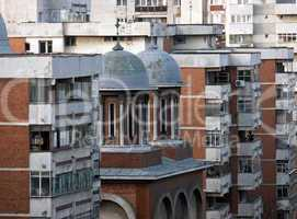 Bucharest architecture detail