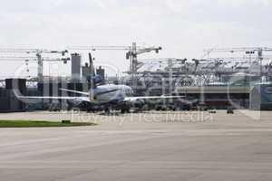 Terminal 5 being built at heathrow