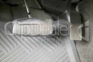 Car gas and brake pedals
