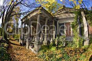 Jewish Cementary in Wroclaw /Poland