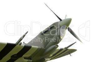 Spitfire MK II World war II British