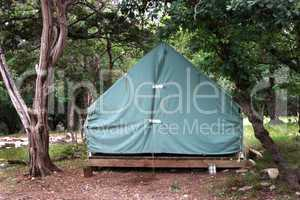 Boy Scout Tent ready to use