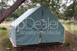 Boy Scout Temp setup