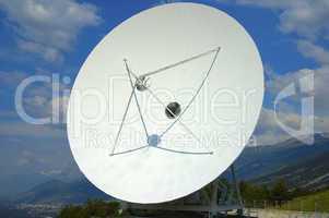 Cassegrain Parabolic antenna