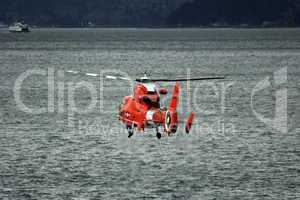 US Coast Guard Reacue Helicopter