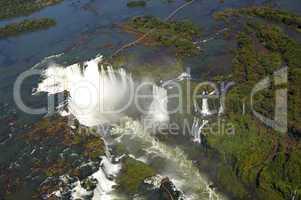 Devil's throat Iguazu Waterfalls