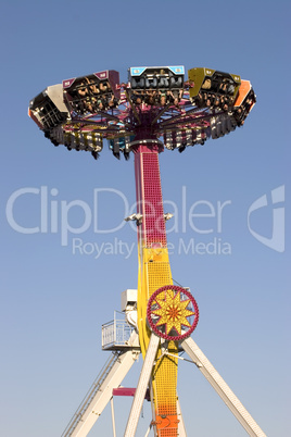 Carnival ride upside down tall