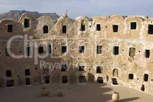 Berber granary Nafusah Mountains Li